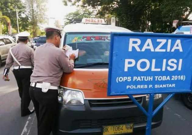 Tercatat 1.500 Pelanggaran, Hasil OPS Patuh 2016 Lantas Polresta Siantar