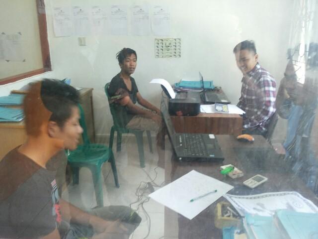 Polisi Amankan  Pencuri CPU Komputer  di SMP 2 Raya Simalungun