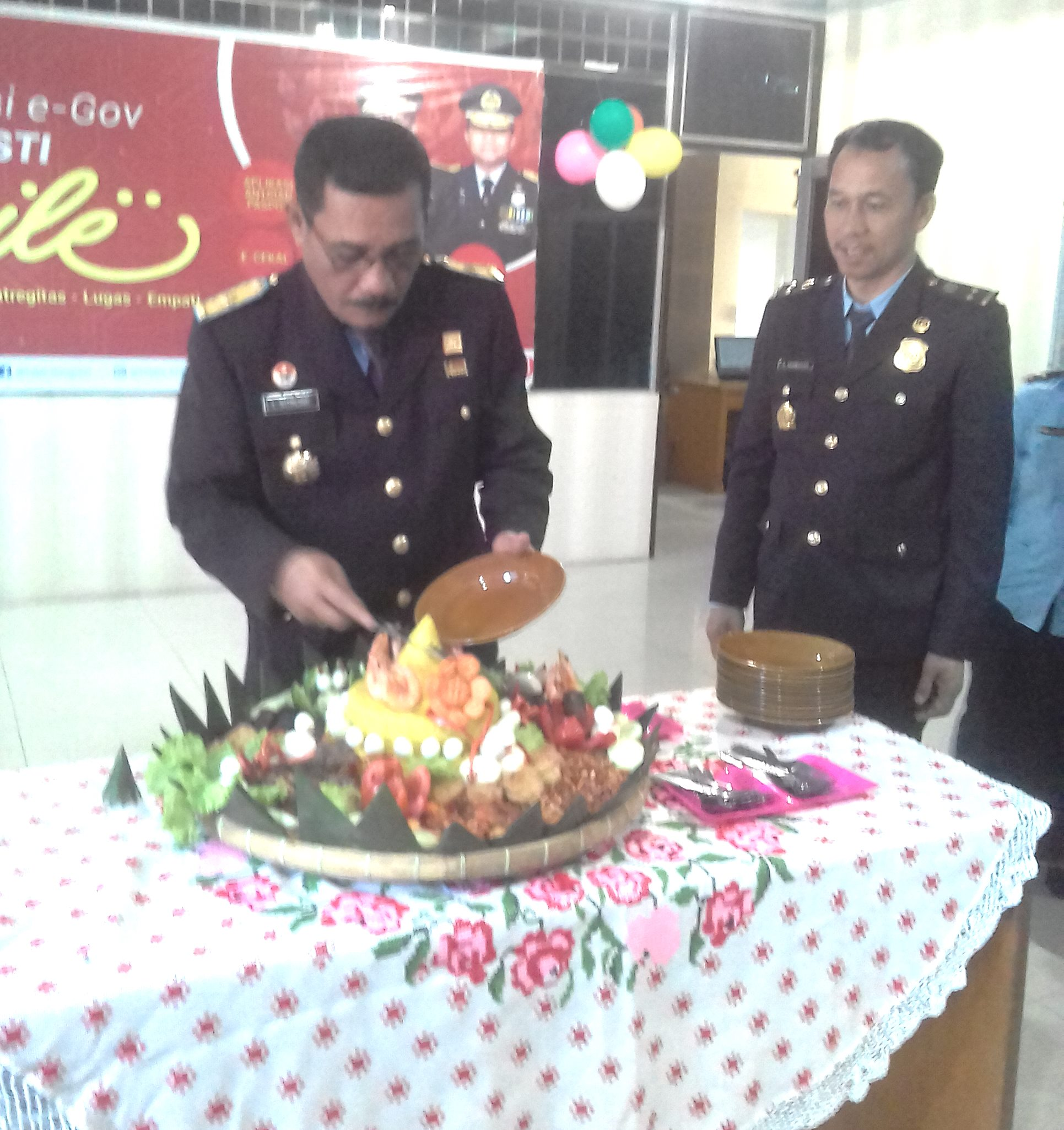 "HUT Imigrasi ke 68, Pesan Kakanwil Kumham Sumut : ""Berantas Calo dan Berikan Pelayanan Terbaik Kepada Masyarakat"""
