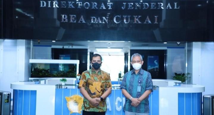 Kabareskrim Polri Silaturahmi ke Dirjen Bea Cukai, Bahas Sejumlah Kerja Sama