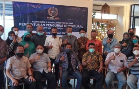 KRT Sandiyo Dipilih Sebagai Ketua DPW Partai UKM Jawa Tengah, Didampingi Suparto Sebagai Sekretaris