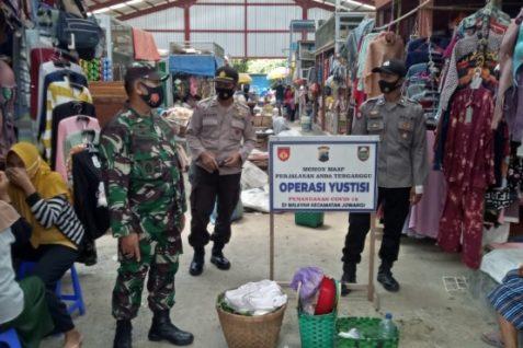 Patroli Yustisi Sasar Pasar Tradisional Juwangi, Boyolali