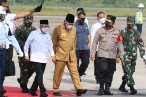 Wakil Presiden RI Kh. Ma'ruf Amin Kunker ke Kota Padang Pariaman