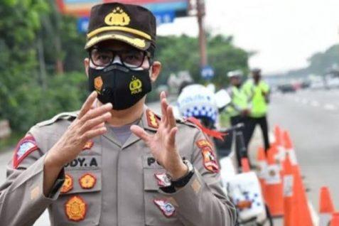 Polisi Kerahkan 166.734 Personil Gabungan Untuk Amankan Mudik Tahun 2021